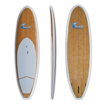"10'8"" Soulr Bamboo Stand Up Paddle Board"