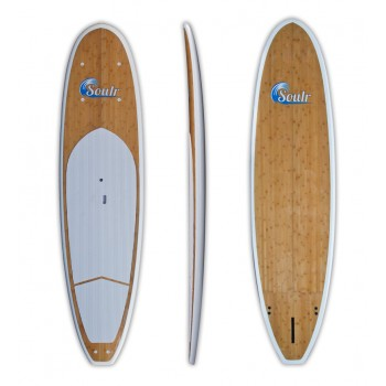 "11'0"" Soulr Bamboo Stand Up Paddle Board"