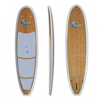 "11'0"" Soulr Yoga - Bamboo Stand Up Paddle Board"