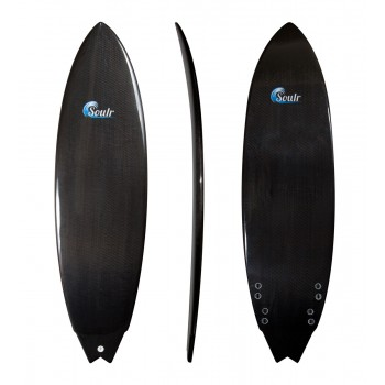 Soulr Swallow Tail Carbon Fiber Surfboard