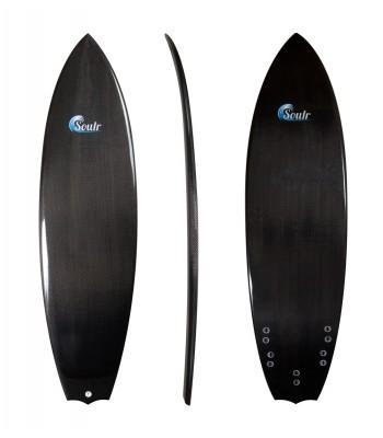 Soulr Bat Tail Carbon Fiber Surfboard