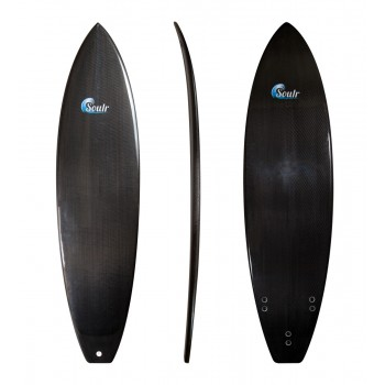 Soulr Squash Tail Carbon Fiber Surfboard
