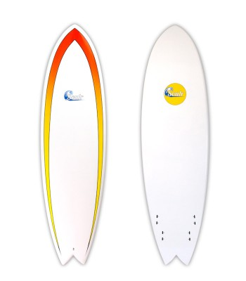 Soulr Quad Fin Performance Fish Surfboard
