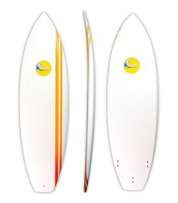 Soulr Squash Tail Epoxy Shortboard