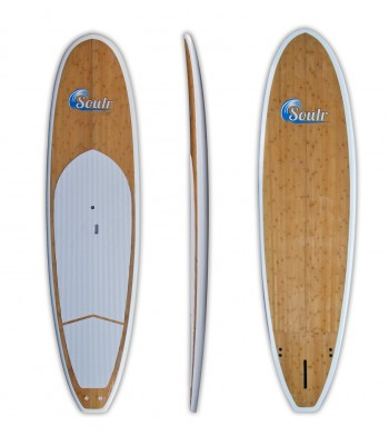 "11'6"" Soulr Bamboo Stand Up Paddle Board"