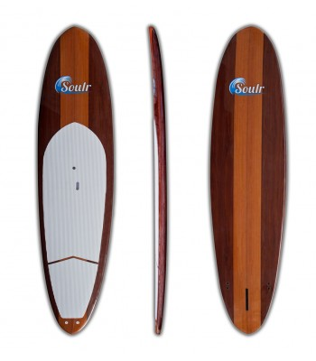 """11'6"""" Soulr Woody Stand Up Paddle Board"""