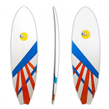 Soulr Hybrid Swallow Tail Epoxy Surfboard