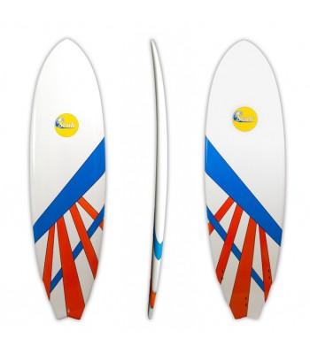Soulr Hybrid Swallow Tail Epoxy Surfboard