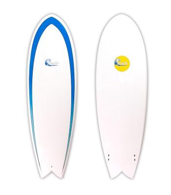 Soulr Twin Fin Retro Fish Surfboard