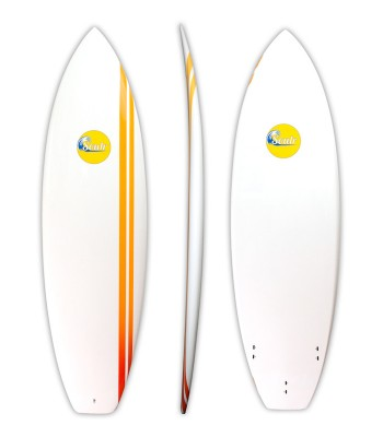 Soulr Squash Tail Epoxy Shortboard